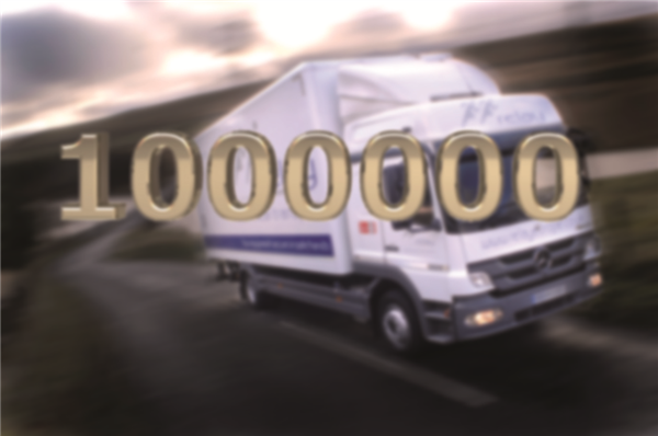 Relay Takes Millionth Specialist Transport Order