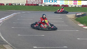 Relay goes for go-karting in a big way!