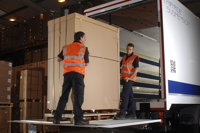Professional packing freight services from Relay
